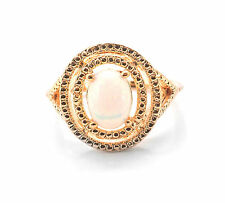 925 Sterling Silver Ring with Opal Oval Cut Natural Gemstone Handmade eBay.