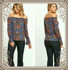 South Ladies Floral Gypsy style top  Size  20 **LESS THAN 1/2 PRICE**