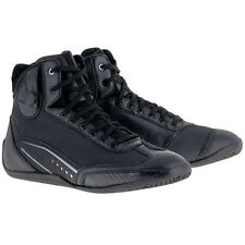 10% Off Alpinestars AST-1 Drystar Black/Grey Motorbike/Scooter Ankle Boots Shoes