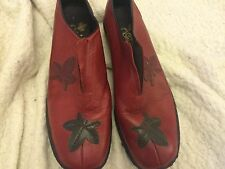 Rieker antistress red shoes size 6 used