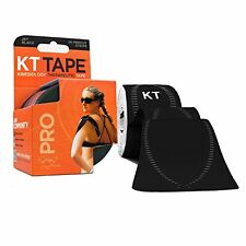 KT TAPE PRO Synthetic Elastic Kinesiology 20 Pre-Cut 10-Inch Strips (All Colors)
