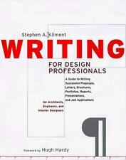 Norton Book for Architects and Designers: Writing for Design Professionals