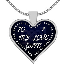 TO MY WIFE - I LOVE MY WIFE NECKLACE
