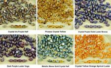 60pcs Crystal Pinch Czech Glass Spacer Bicone Faceted Beads 5mm
