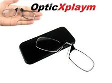 XplaymOptics Reading Glasses All Strengths with Case Brand New Nose Clip Thin