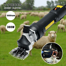320W Electric Shearing Sheep Goats Alpaca Pet Animal Farm Clipper Shear Machine