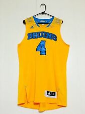 UCLA Bruins Basketball Game team Issued Jersey Legacy Lonzo Ball Prototype