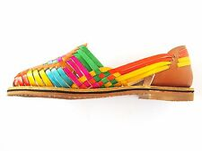 Women Handmade Mexican Leather Sandal Huaraches size 5 -10 U.S. - CZA26ml
