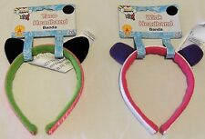 So So Happy Headband ~ Taco or Wink ~ Dress Up Accessories ~ NIP Smoke Free Home