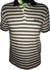 MEN HUGO BOSS MODERN FIT CASUAL STRIPED T- SHIRT SIZE S, M, XL