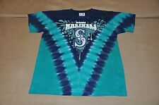 NWOT Seattle Mariners Youth Boys Tie Dye T-Shirt Shirt (L) Jersey Hat Polo MLB