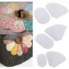 40pcs Flower Paper Quilting Templates English Paper Piecing Patchwork Templates
