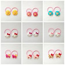 18pcs Baby Girls kids Hair Elastic Band hair accessories Hair rope Party Gift