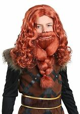 Wooden Viking 4 inch jointed red beard eric the red   eBay