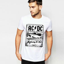 ACDC Rock Band AC DC T Shirt Mens 3D Print ACDC Graphic Tees Shirt Rock Or Bust