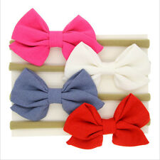 Baby Infant Bowknot Head Wrap Turban Big BowKnot Headband Hairband