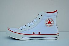 Womens Converse Chuck Taylor All Star Size 9 High Top Shoes White Blue 145671C