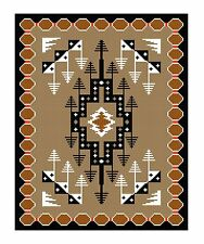 BISTI VINTAGE NAVAJO 1930 Southwest Rug for Counted Cross Stitch Pattern or Kit