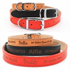 Personalized Dog Puppy Collar Tag, Ancol Heritage Finest Quality Leather
