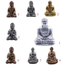 The Hue Indian Tribal God Statues Resin Seated Meditation Buddha Deity Figurines