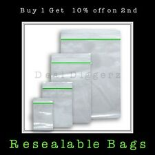 Small Clear Resealable Plastic Bags Baggies Baggy Polythene Grip Seal 20mmx20mm