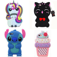 Stitch Unicorn Cat 3D Cartoon Soft Silicone Case Cover For Iphone Samsung Huawei