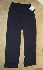 """WOMENS """"Stylecorp"""" pant stretch PULL ON elastic waist in Dark Navy,6,8.10.12,14"""