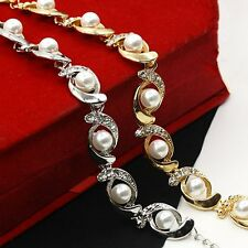 Fashionable Pearl Multilayer Charm Bracelet For Women Fashionable Jewelry BR