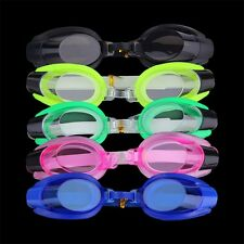New Anti Fog UV Swimming Goggle Adjustable Glasses With Nose Clip+Ear Plug BE