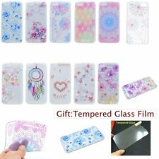 ULTRA THIN Fashion Floral Print SOFT TPU GEL Back Case Cover Skin For WIKO Phone