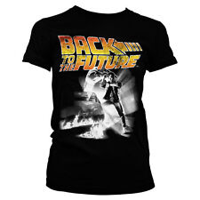 Officially Licensed Back To The Future Poster Women T-Shirt S-XXL Sizes