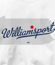 Williamsport, Pennsylvania PA MAP Souvenir T Shirt All Sizes & Colors