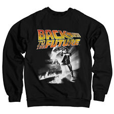 Officially Licensed Back To The Future Poster Sweatshirt S-XXL Sizes