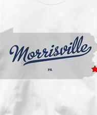 Morrisville, Bucks County, Pennsylvania PA MAP T Shirt All Sizes & Colors