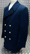 Genuine vintage US Coast Guard Service Reefer / Pea Coat / Jacket Blue USCG NEW