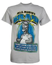 Simpsons Homer All Right, Brain T-Shirt