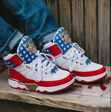 Ewing Athletics Ewing 33 Hi 4th July Sneakers Men's Lifestyle Shoes the USA FLAG
