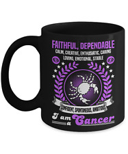 I'm a Cancer, Cancer Zodiac Mug, Cancer Horoscope Mug