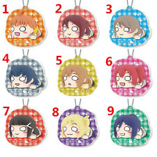 T319  Hot Japan anime Lovelive Love Live! rubber Keychain Key Ring Rare cosplay