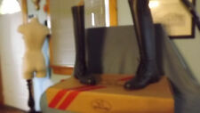 Devonaire Ladies Field Boot Zip Back Synthetic Leather NIB 779 Lds North Park