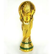 2014 Brazil World Cup Soccer Trophy Replica Football Brand New Statue Model
