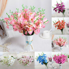 5Part Wedding Colorful Artificial Fake Silk Flower Phalaenopsis Butterfly Orchid
