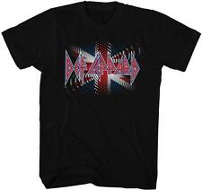 BRITISH Def Leppard English Rock Band Heavy Metal Hard Rock BLACK Adult T-Shirt
