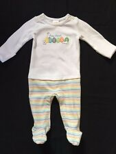 NWT Gymboree Baby Boys Girls First Easter Footed One-Piece Bunny Romper 3/6 mos