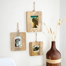 Mango Wood Photo Picture Frame Hanging Wall Picture Album Home Wall Decor Gift