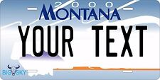 Montana 2000-5  Personalized Custom License Plate Car Motorcycle Bike
