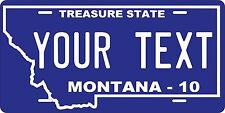Montana 2010  Personalized Custom License Plate Car Motorcycle Bike