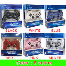 Sony PS3 Playstation 3 DUALSHOCK 3 Wireless Bluetooth SIXAXIS Controller & USB