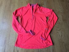 NIKE Running Dri-Fit Women's Pullover / Reflector Strips  XS ~TERRIFIC CONDITION