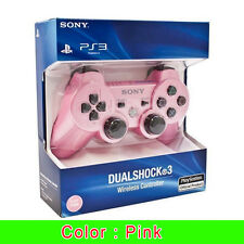 Sony PS3 Playstation 3 DUALSHOCK 3 Wireless Bluetooth SIXAXIS Controller -PINK